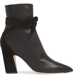 Jimmy Choo Wedge Black Boots