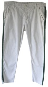 NSF Straight Pants Cream / Green