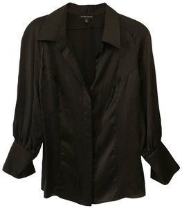Hilton Hollis Button Down Shirt Black
