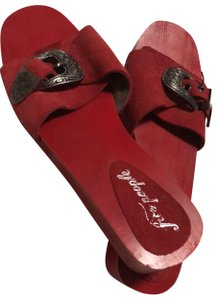 Free People Red Wedges