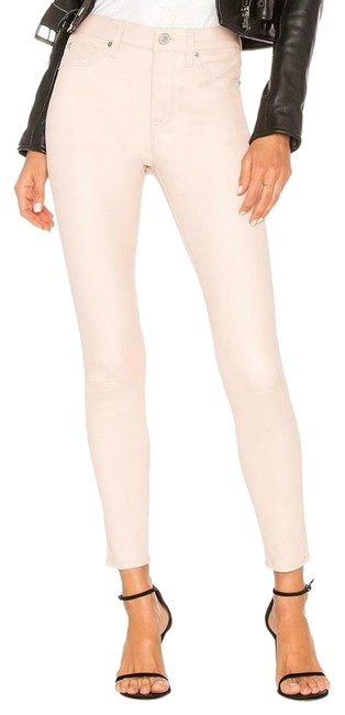 Item - Blush Barbara High Rise Blushing Leather Pants Skinny Jeans Size 30 (6, M)