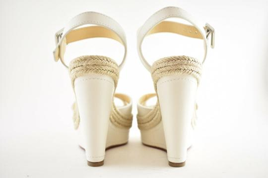 Christian Louboutin Pigalle Stiletto Classic Galeria Studded white Wedges Image 10