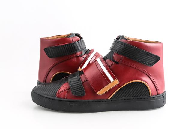 Item - Red Herick Velcro Sneakers Shoes