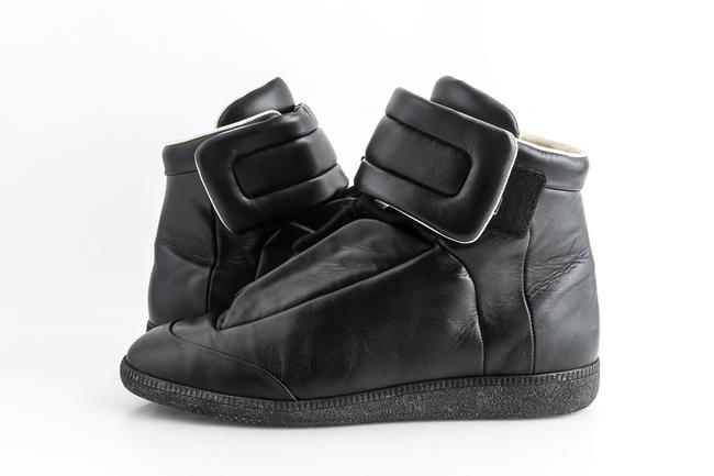 Maison Margiela Black Future High Top Sneakers Shoes Maison Margiela Black Future High Top Sneakers Shoes Image 1