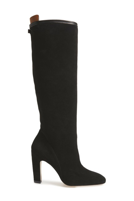 Stuart Weitzman Black Suede Charlie Knee High Slouchy (S4 Boots/Booties Size US 6 Regular (M, B) Stuart Weitzman Black Suede Charlie Knee High Slouchy (S4 Boots/Booties Size US 6 Regular (M, B) Image 1