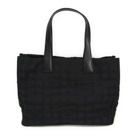 Preload https://img-static.tradesy.com/item/25745759/chanel-bag-new-travel-line-a15991-women-s-black-canvas-nylon-cotton-leather-tote-0-0-540-540.jpg
