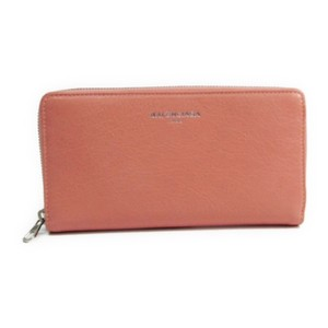 Balenciaga Balenciaga 419805 Women's Leather Long Wallet (bi-fold) Pink