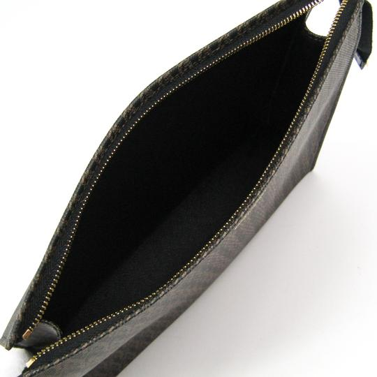 Saint Laurent Black / Dark brown Clutch Image 2