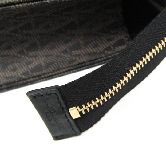 Saint Laurent Black / Dark brown Clutch Image 4