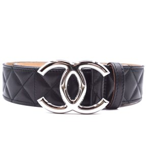 Chanel CC Quilted Leather