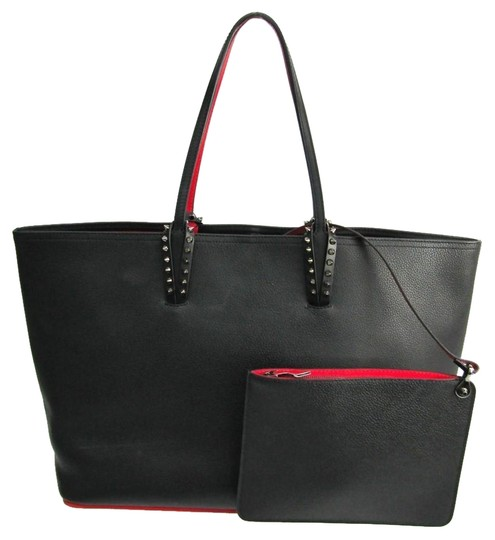 Preload https://img-static.tradesy.com/item/25746462/christian-louboutin-bag-cabata-1175113-unisex-studded-black-leather-tote-0-1-540-540.jpg