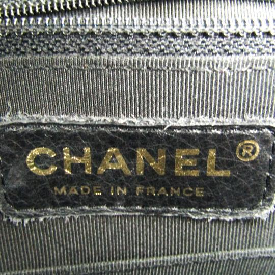 Chanel Quilted Caviar Pst A20994 Tote in Black Image 5