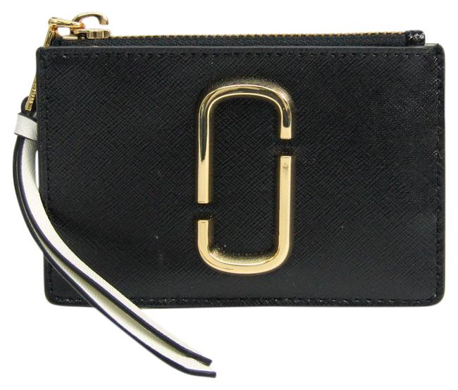 Item - Black / Charcoal Gray / White M0014283 Women's Leather Coin Purse/Coin Case Wallet