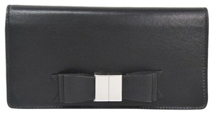 Balenciaga Balenciaga 354958 Women's Leather Long Wallet (bi-fold) Black