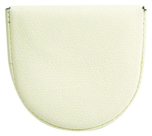 Valextra Valextra V0L89 Unisex Leather Coin Purse/coin Case White