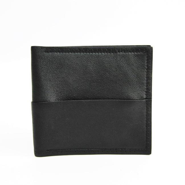 Item - Black Men's Leather (Bi-fold) Wallet