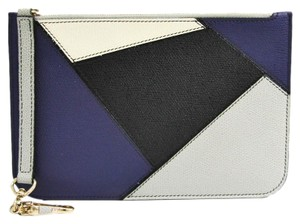 Valextra Multi-color / Purple Clutch
