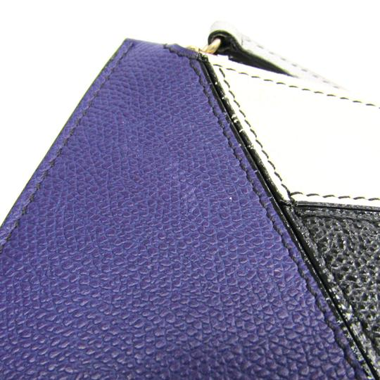 Valextra Multi-color / Purple Clutch Image 3