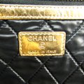 Chanel Gold Clutch Image 7