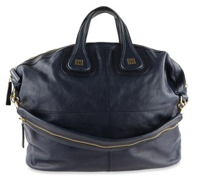 Givenchy Leather Gold Hardware Tote in Blue