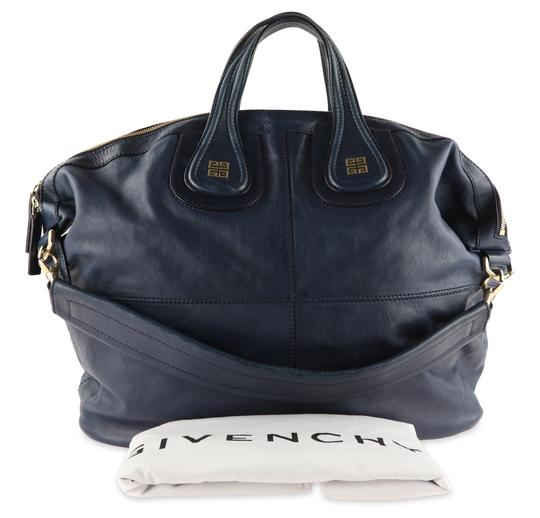 Givenchy Leather Gold Hardware Tote in Blue Image 11