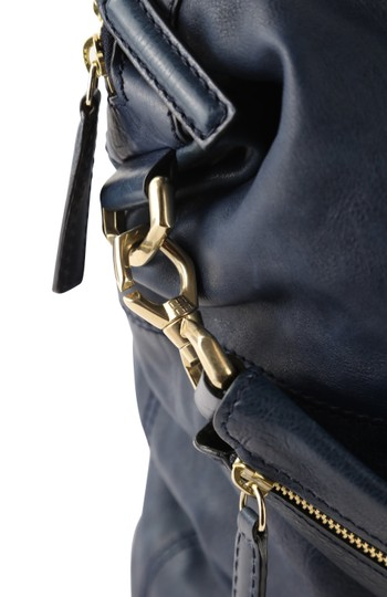 Givenchy Leather Gold Hardware Tote in Blue Image 5