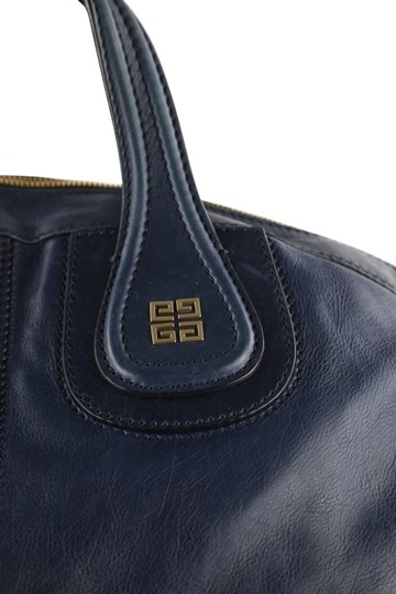 Givenchy Leather Gold Hardware Tote in Blue Image 6