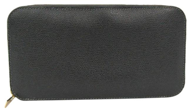 Item - Gray Long V9l06 Unisex Calfskin (Bi-fold) Wallet