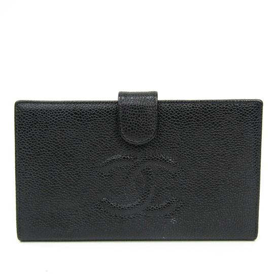 Preload https://img-static.tradesy.com/item/25746827/chanel-black-long-caviar-leather-bi-fold-wallet-0-0-540-540.jpg