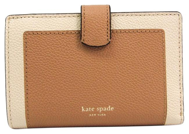 Item - Beige / Light Brown Margaux Pwru7151 Women's Leather (Bi-fold) Wallet