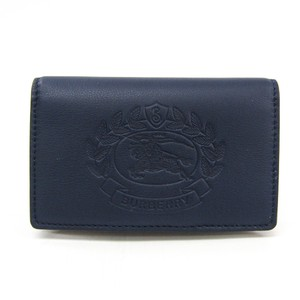 Burberry Burberry Women's Leather Wallet (bi-fold) Navy