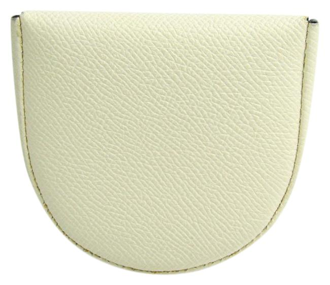 Item - Ivory V0l89 Unisex Leather Coin Purse/Coin Case Wallet