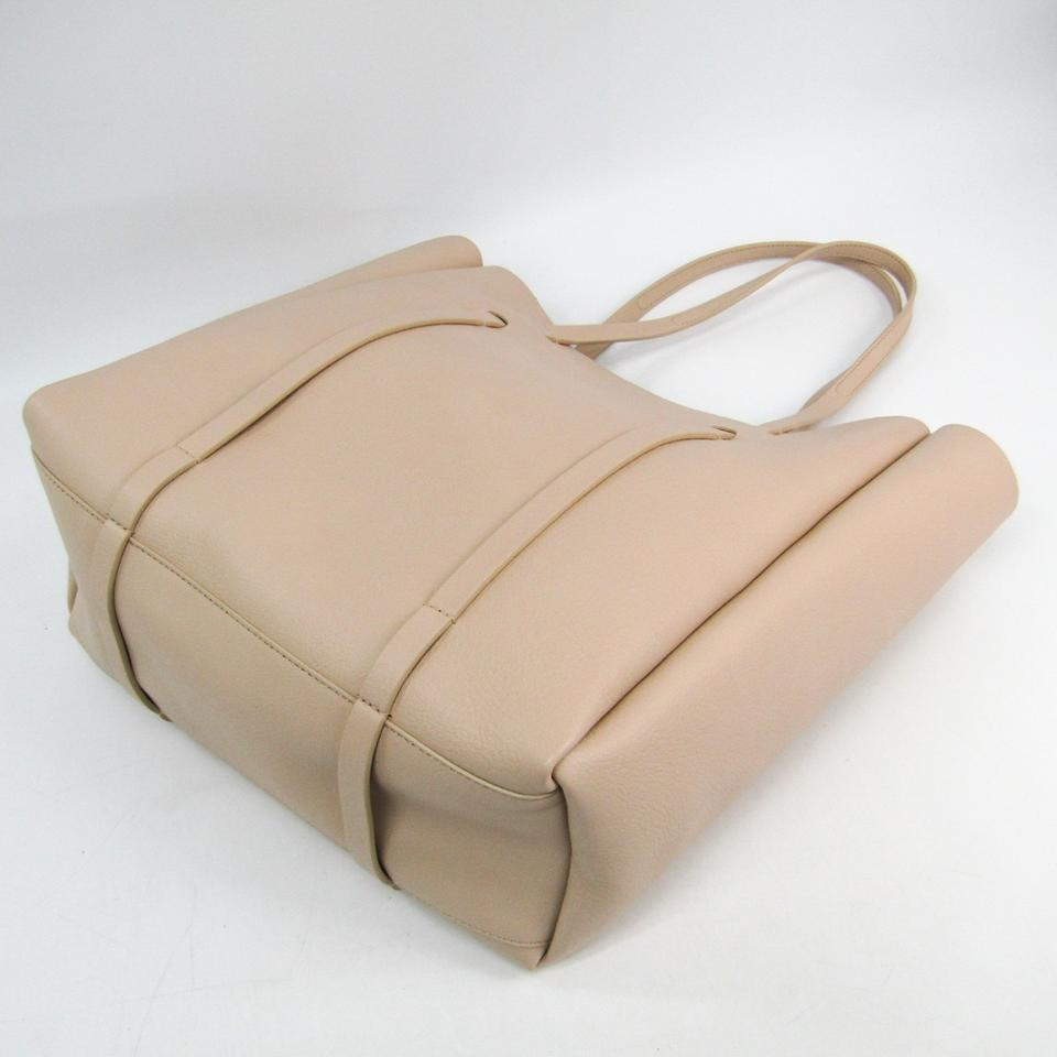 info pour fe682 bf9f9 Balenciaga Bag Everyday 475199 Women's Beige Leather Tote