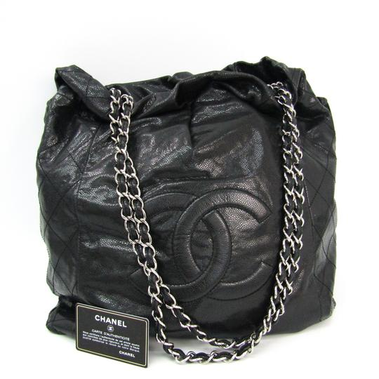 Chanel Shinny Caviar Shoulder Bag Image 9