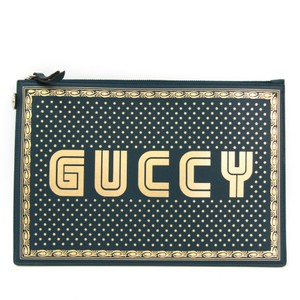 Gucci Gold / Green Clutch