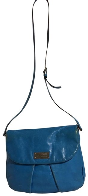 Item - Handbag Blue Leather Cross Body Bag