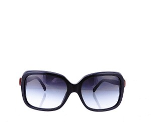 Chanel CH5171 c.1231/8G Black Red Bow Square Oversize Sunglasses 60 mm Italy