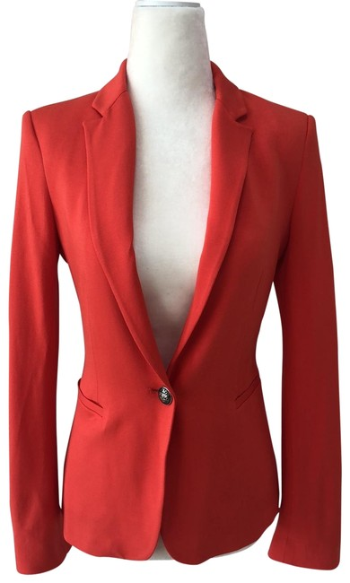Item - Orange Blazer Size 0 (XS)