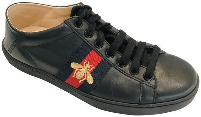 Item - Black Bee Embroidery Ace Web-trimmed Sneakers Size EU 35 (Approx. US 5) Regular (M, B)