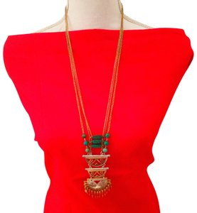 Neiman Marcus ORIENTAL STYLE GOLD LONG NECKLACE