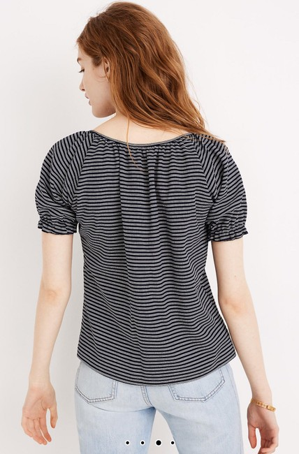 Madewell T Shirt Coral Image 3