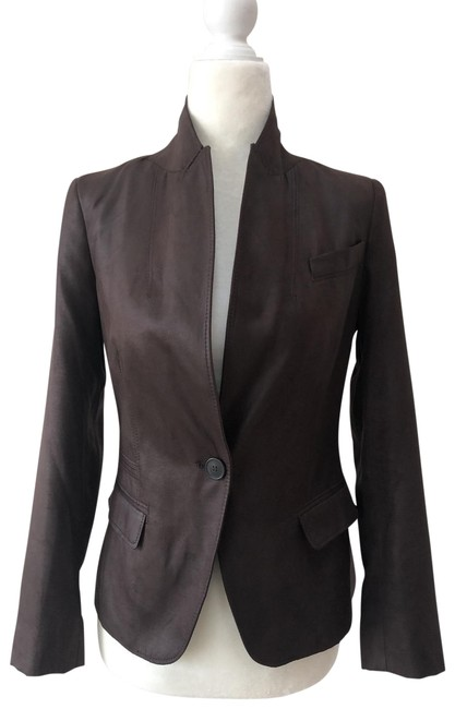 Item - Chocolate Brown Blazer Size 0 (XS)