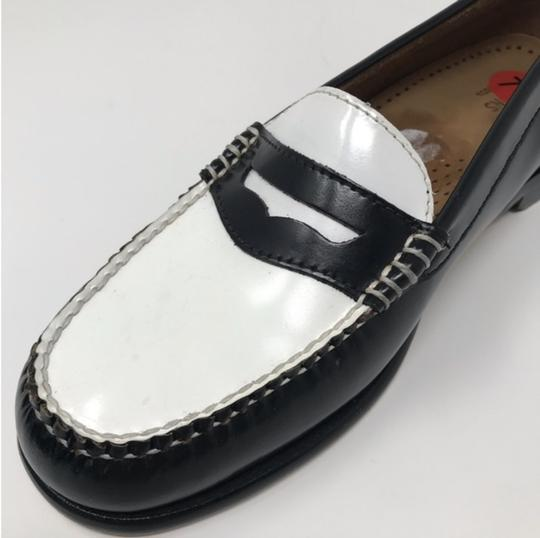 Bass Black and White G H Women's Wayfarer Penny Loafer ...