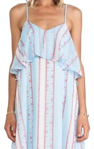 Blue Maxi Dress by Lucca Couture Maxi Tank Overlay Festival Revolve