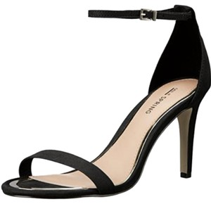 Call It Spring Black and Gold Pumps
