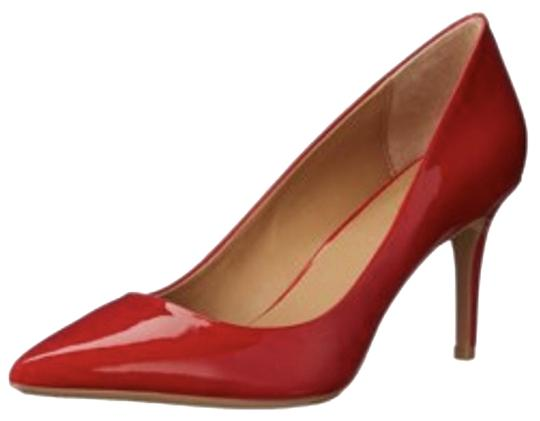 Calvin Klein Red Gayle Patent Leather