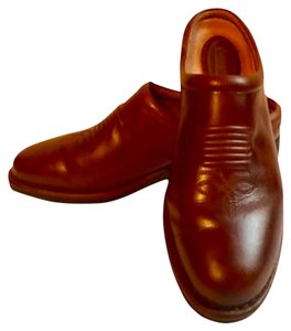 Rocky 4EeurSole Western Boot Leather Comfortable Brown Mules
