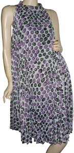Forever 21 short dress purple, lavender. teal Pleated Pleated Trapeze Trapeze Pleated Maternity Swing on Tradesy
