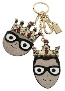 Dolce&Gabbana Face Charm of The Designers Keyring