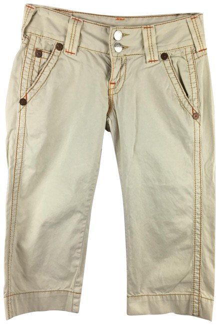 Item - Tan Sammy Big T Capris Size 4 (S, 27)